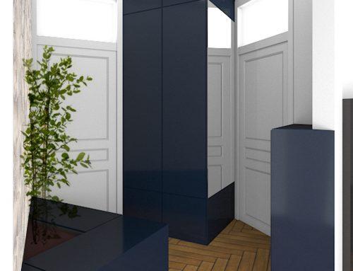 Architecte : Camille Jomain • Client particulier • Lieu : Lyon (69) •